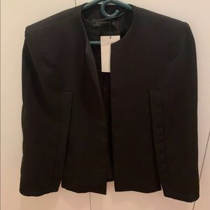 Zara cape blazer jacket